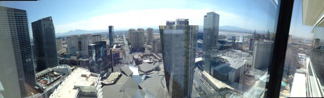 View from the Aria