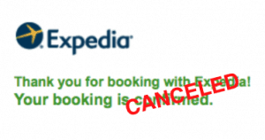 expedia disaster