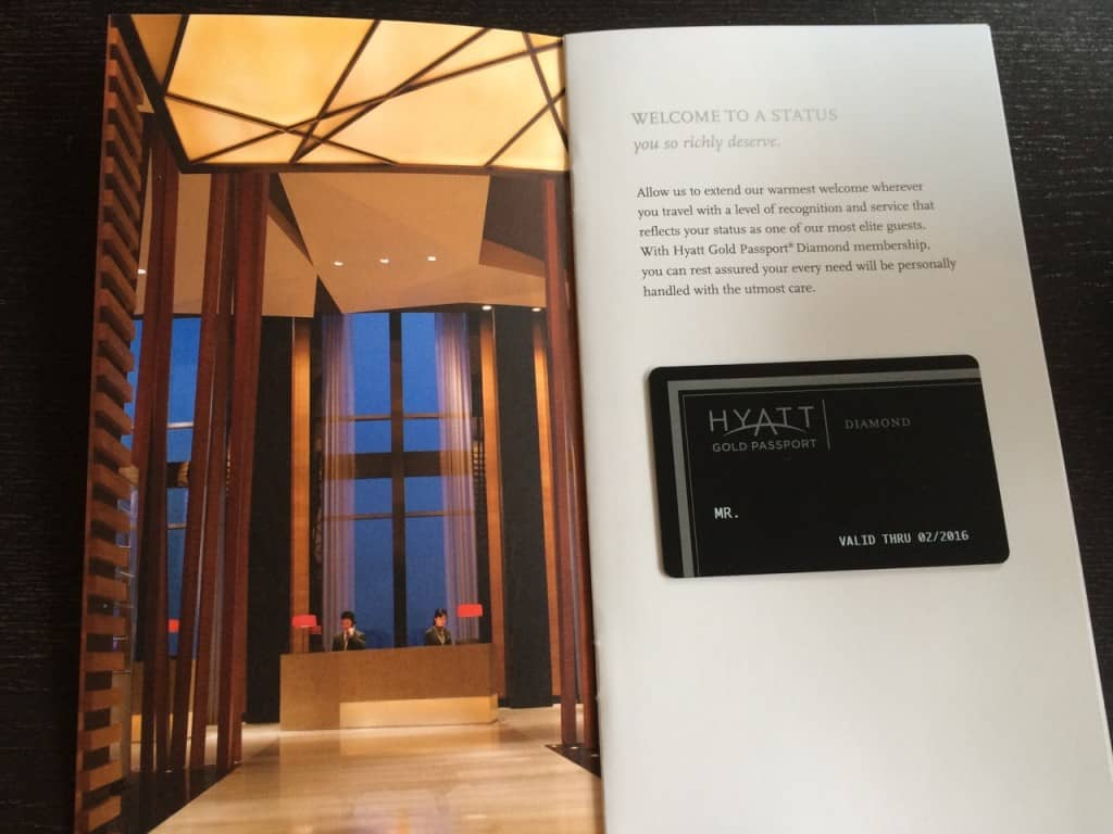 Hyatt Diamond Challenge 2015
