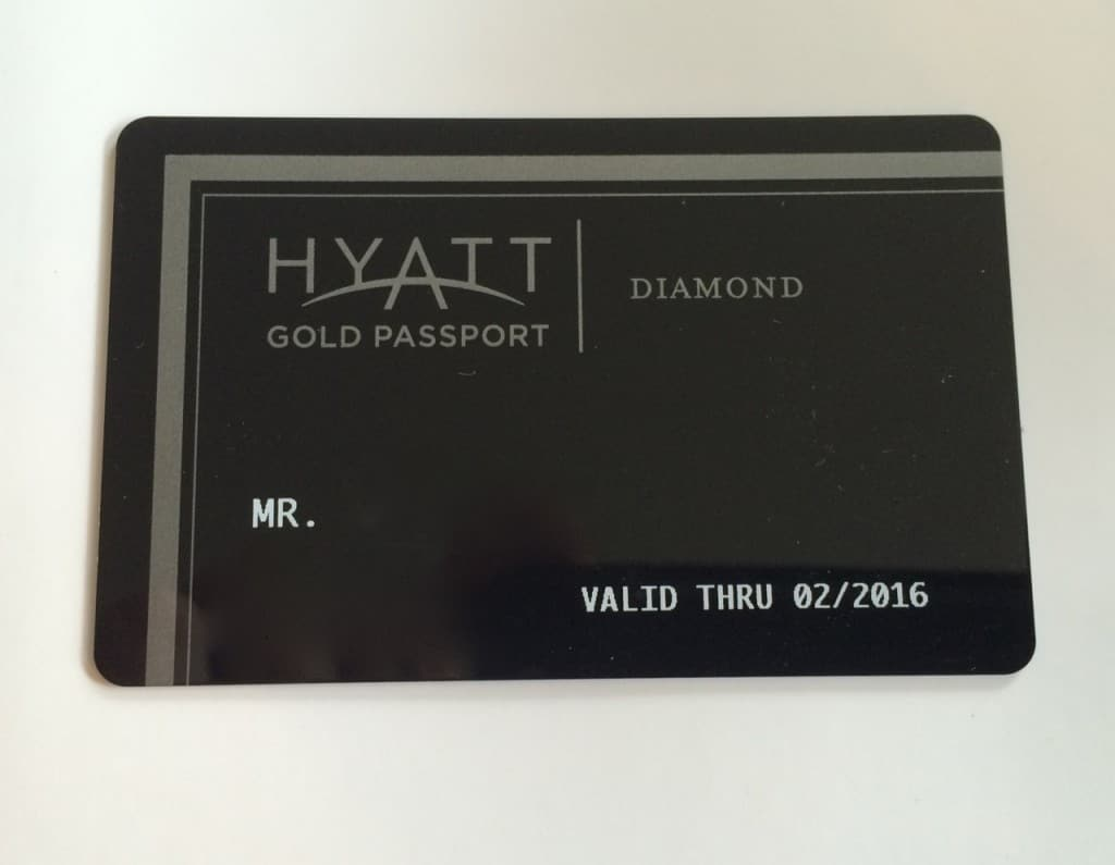 Hyatt Diamond Challenge 2015