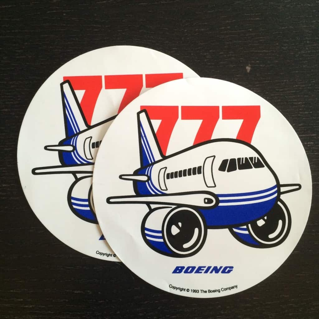1993 era sticker