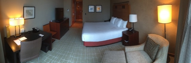 Grand Hyatt Seattle room