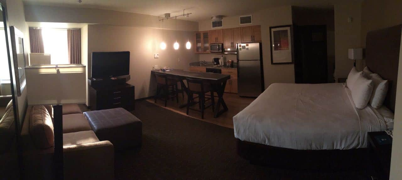 Room at the Hyatt House Seattle/Bellevue