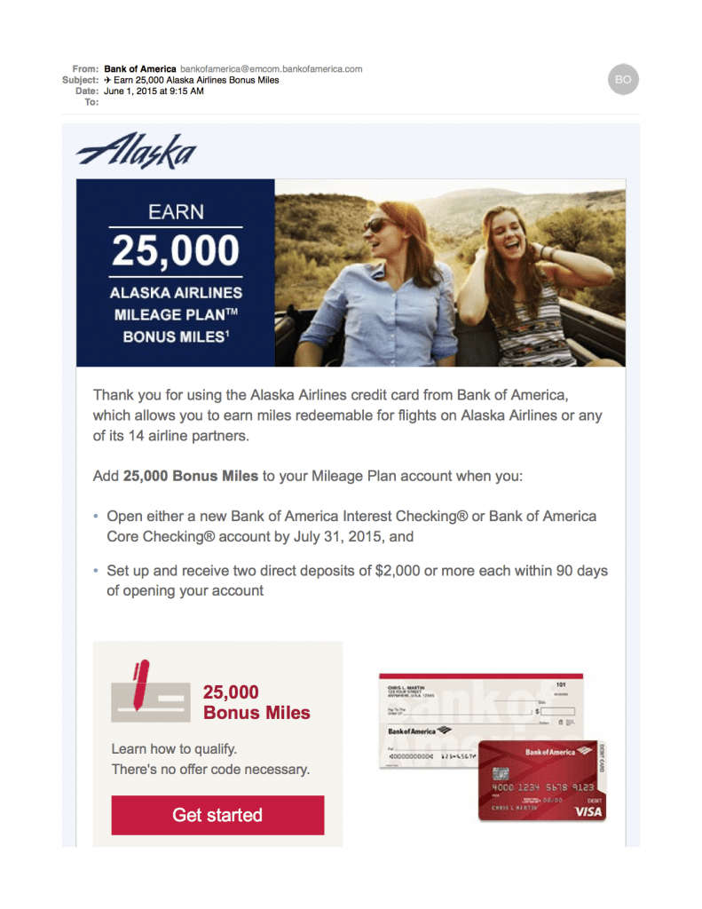 Earn 25000 Alaska Airlines Bonus Miles