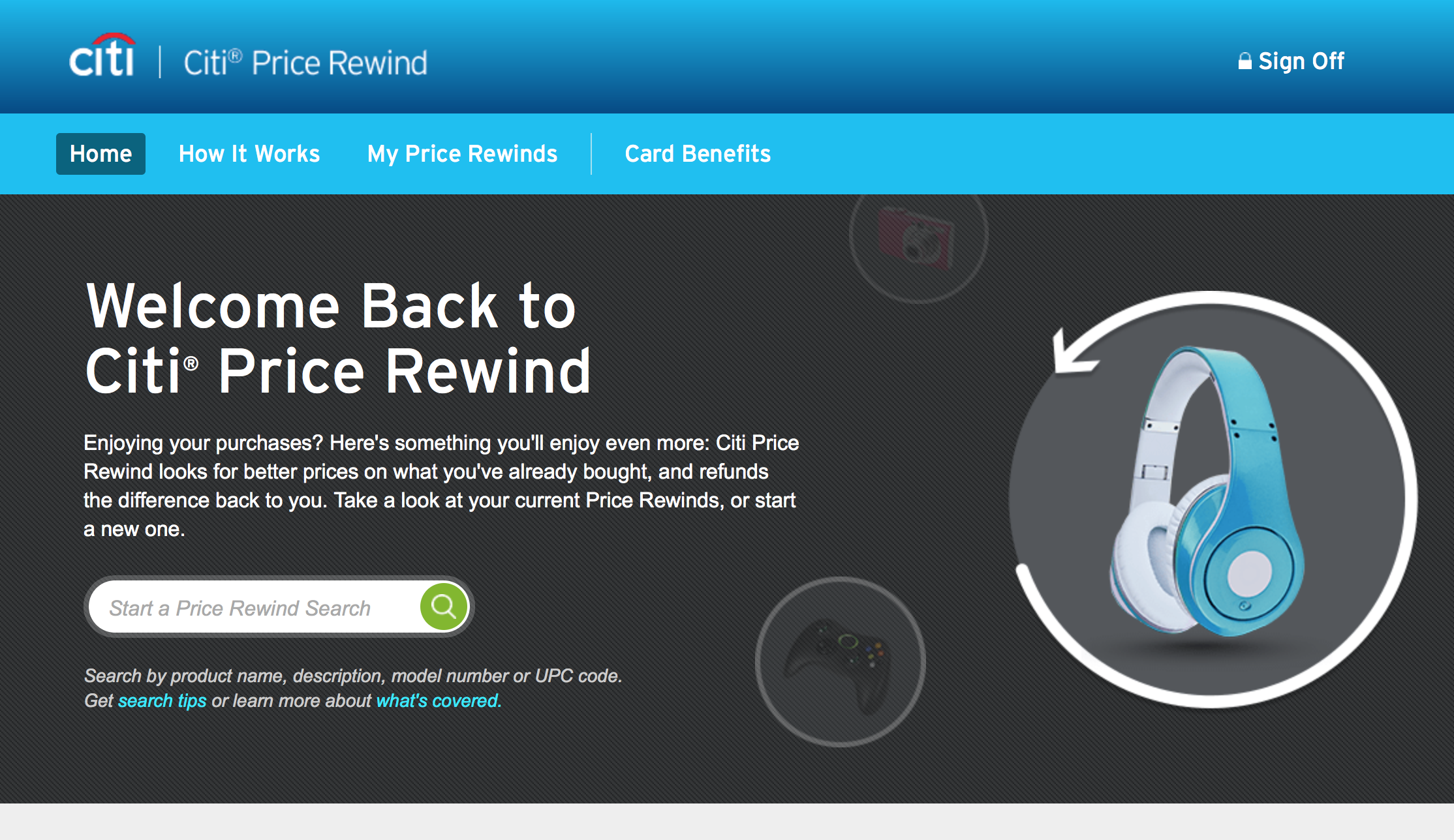 Using the Citi Price Rewind Benefit   SingleFlyer