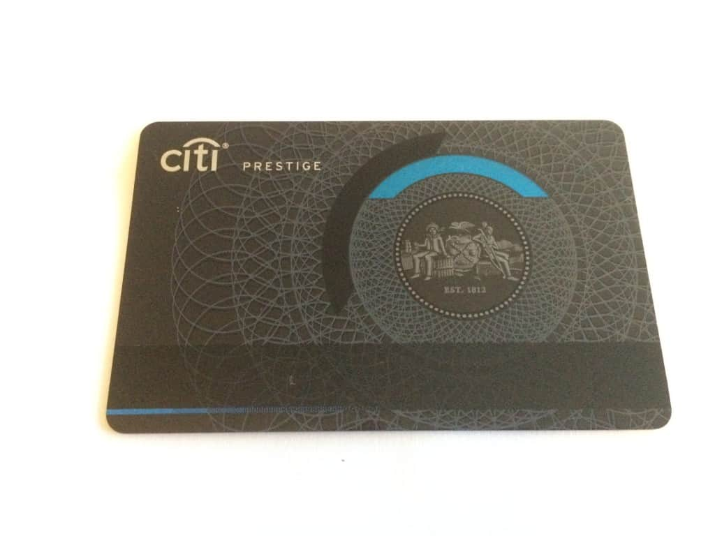 Citi Prestige Card Lounge Access