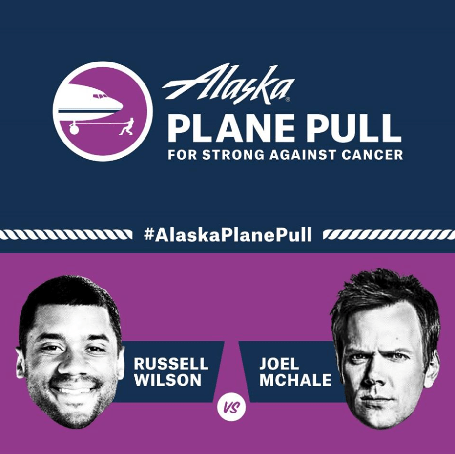 Strong Against Cancer Plane Pull