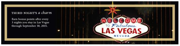 Hyatt Gold Passport points in Las Vegas