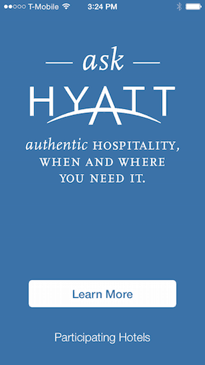 Ask Hyatt app