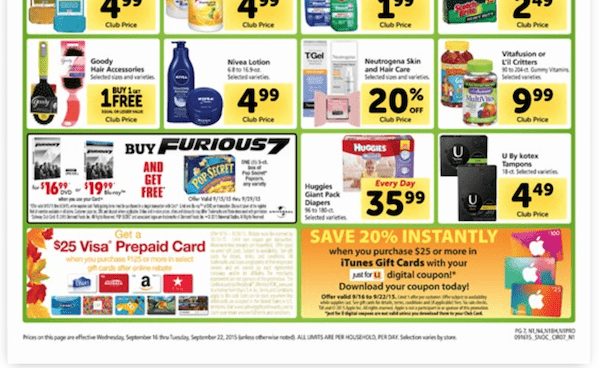 Safeway gift card promotion