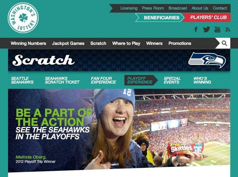 Seahawks Playoffs Lottery Contest