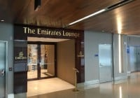 Emirates First Class LAX-DXB
