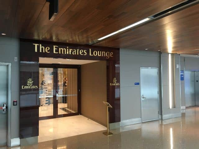 Emirates Lounge LAX