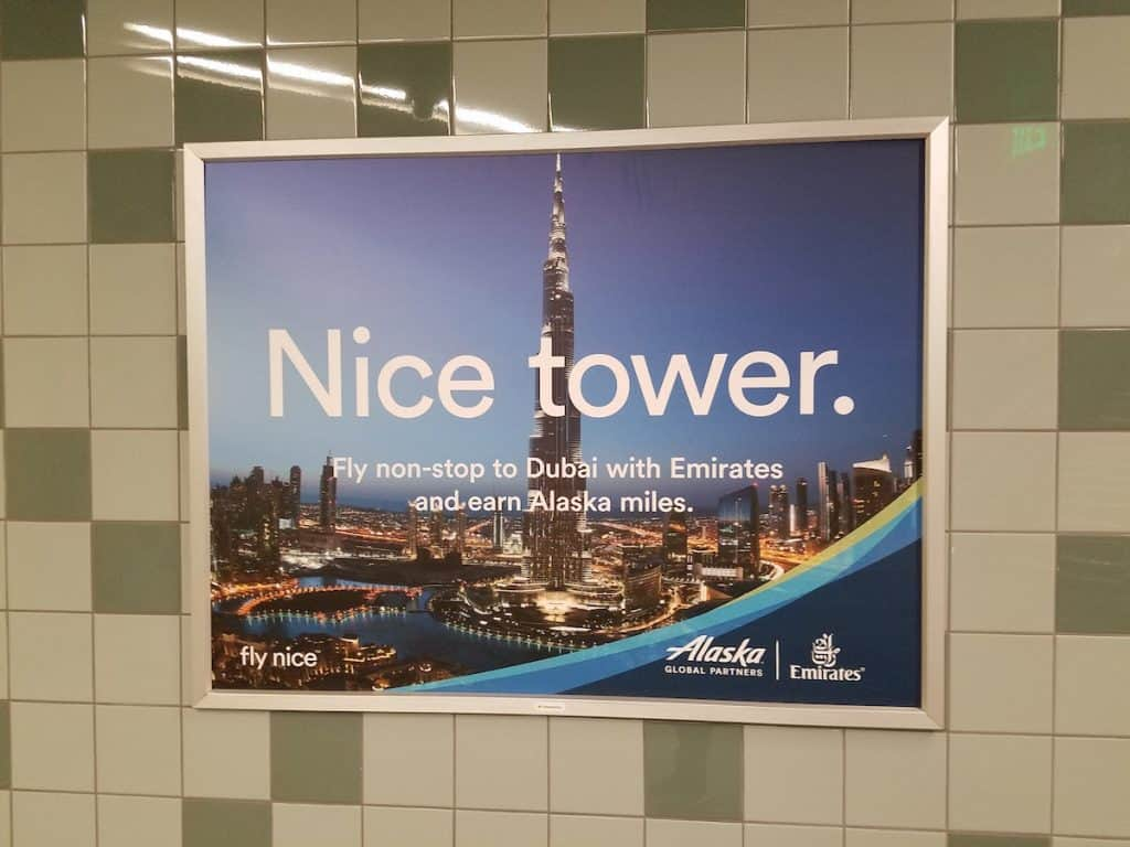 """Alaska Airlines """"fly nice"""" ad campaign"""