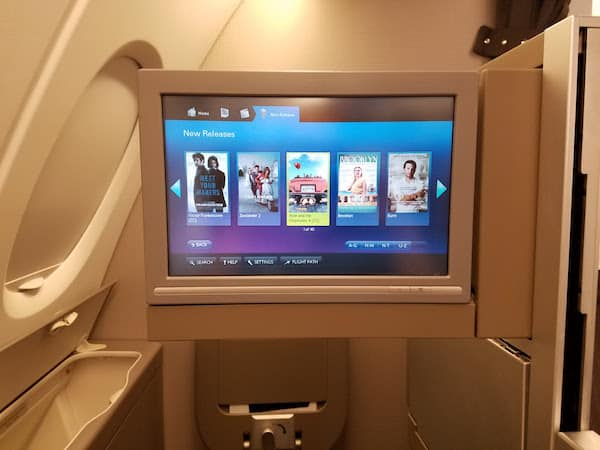British Airways A380 Business Class