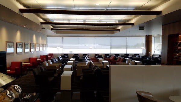 Qantas Business Lounge Auckland