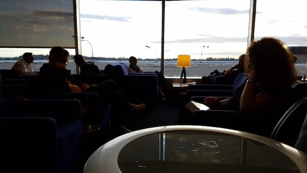 British Airways Terraces Lounge Seattle