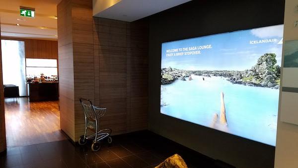 Icelandair Saga Lounge
