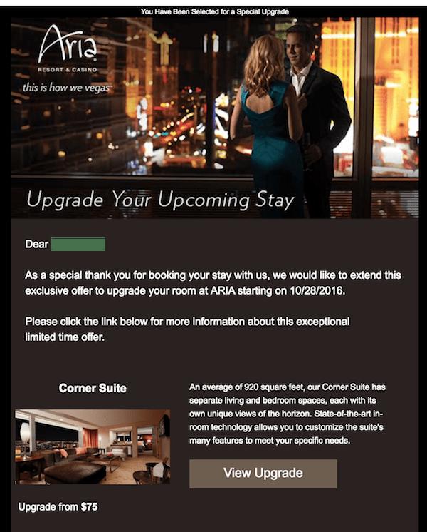 Aria Executive Hospitality Suite