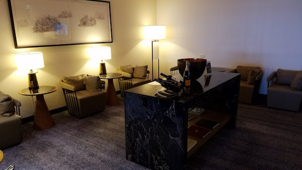 Singapore Airlines First Class Lounge Sydney