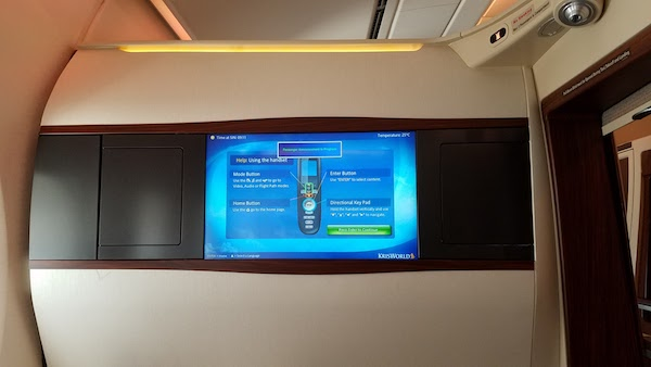 Singapore Airlines A380 Suite Class SYD-SIN