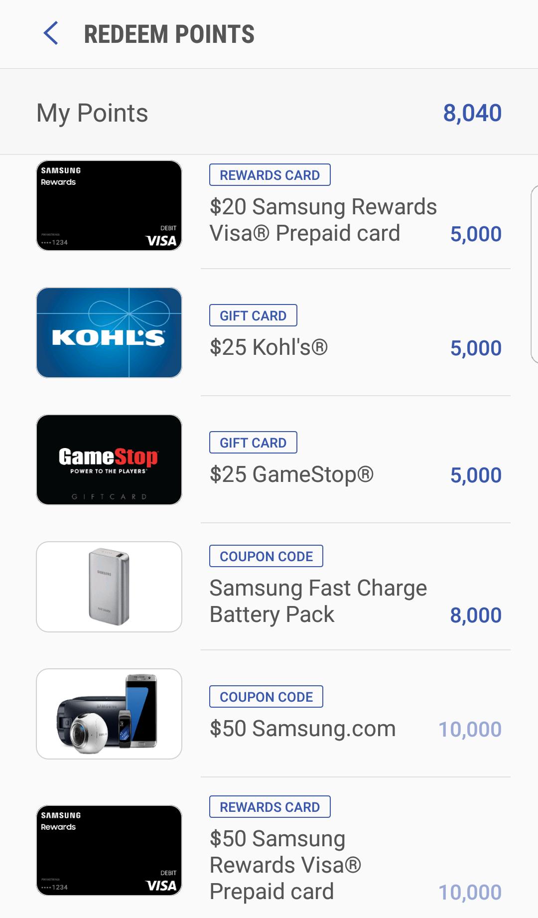 Samsung Rewards with Samsung Pay | SingleFlyer
