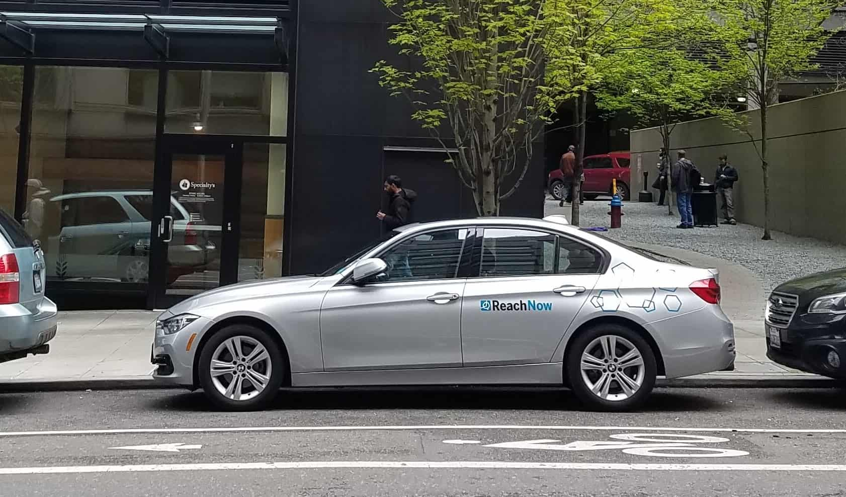 Electric Bmw Car Share Seattle
