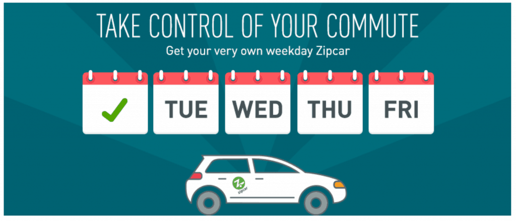 Zipcar Commuter Plan