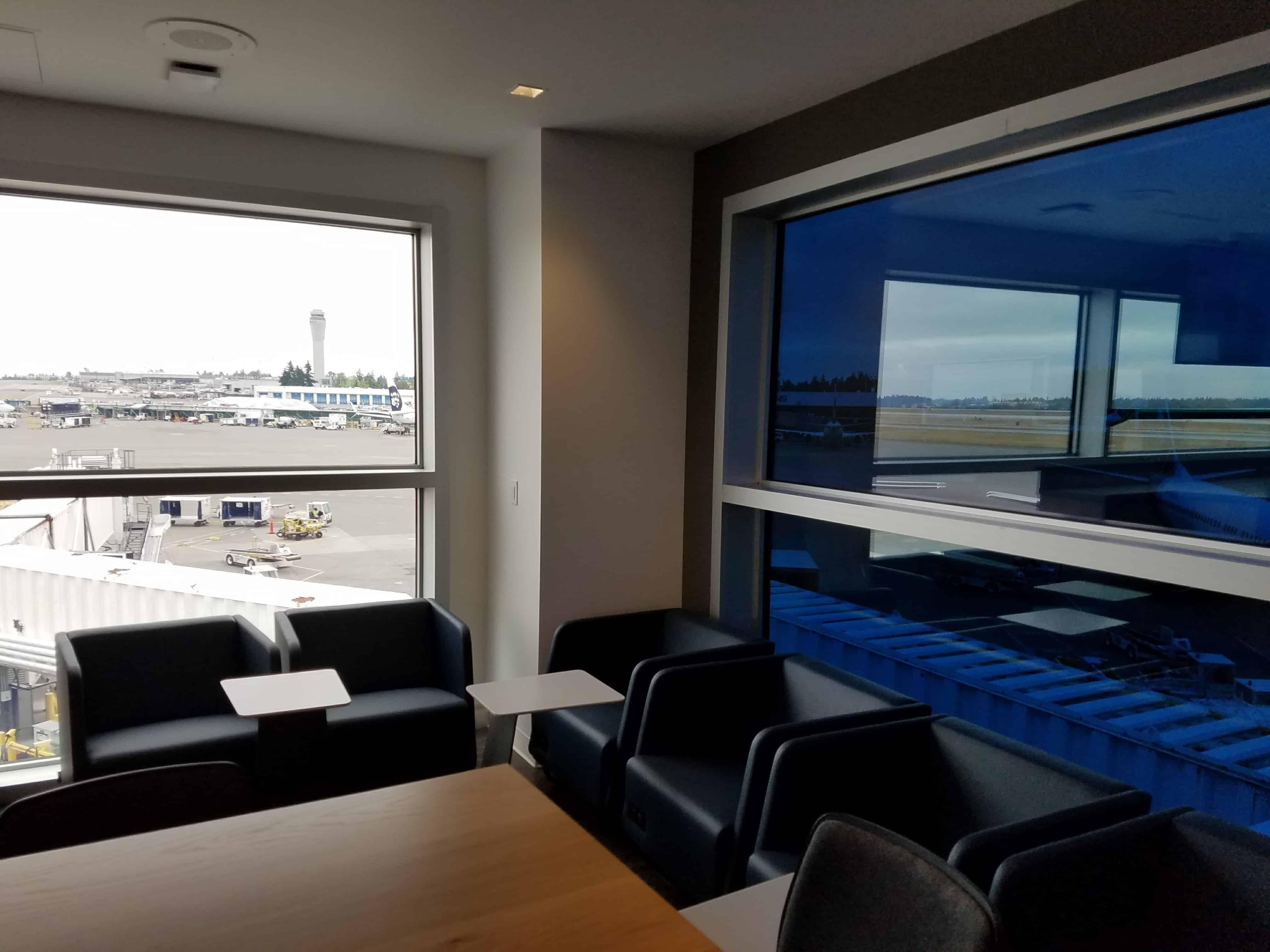 Alaska Lounge in Concourse C at Sea-Tac | SingleFlyer