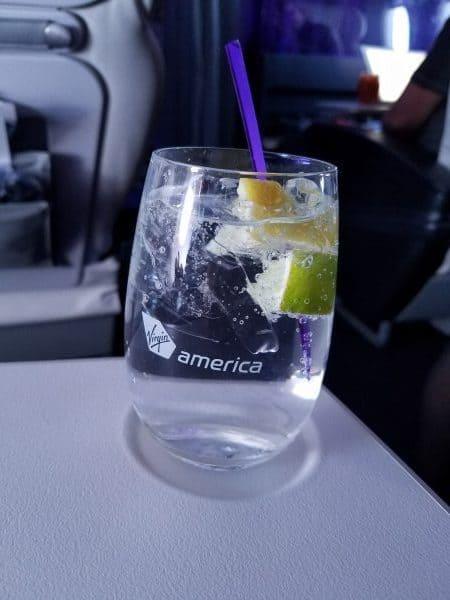 Virgin America First Class