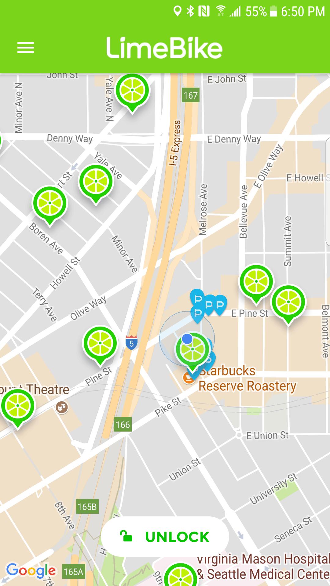 LimeBike vs Spin Bike Share in Seattle SingleFlyer