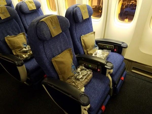 World Traveler Plus British Airways Seats