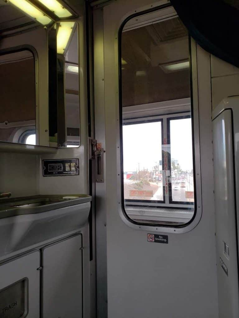 Amtrak Superliner Bedroom On Coast Starlight Review