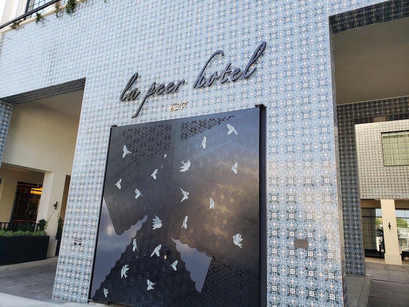 Kimpton La Peer Hotel West Hollywood Review | SingleFlyer