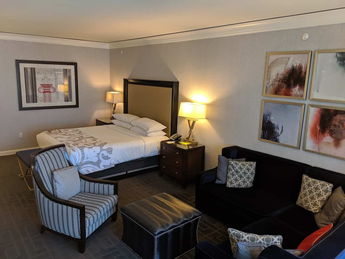 Picture of: Caesars Palace Augustus Premium Room Review Singleflyer