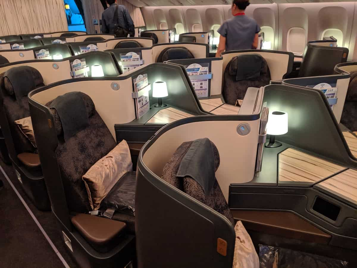 China Airlines 777 Vs A350 Business Class Singleflyer